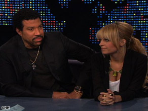 Lionel Richie and his daughter, Nicole, gave their first joint TV interview in six years to CNN's Larry King.