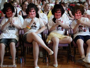 Susan Boyle fans watch her perform for the final time on Britain's Got Talent.