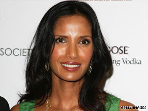 "Padma Lakshmi will be eating for two on Bravo's ""Top Chef."""