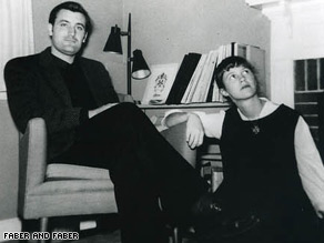 Poets Ted Hughes and Sylvia Plath had separated before their son's first birthday.