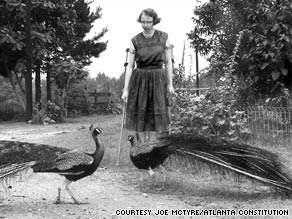 photo of Flannery O'Connor courtesy cnn.com