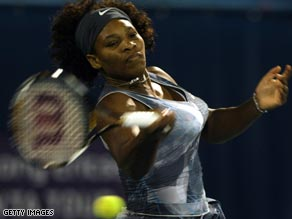 Williams crashed out in her first clay-court match of the season in the Andalucia Open.