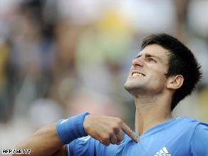 Djokovic wants to be the center of attention after his fine win over Federer.