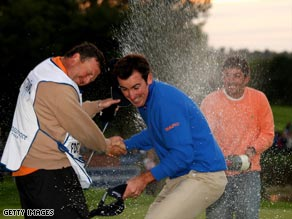 Last year's British Masters champion Gonzalo Fernandez-Castano will not be able to defend his title this year.