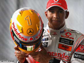 Lewis Hamilton is making the most of his loosening grip on the world title