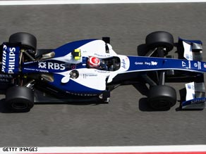 Williams have become the first of the current F1 teams to confirm their 2010 world championship entry.