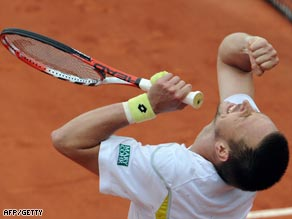 Soderling savors his unlikely triumph against Nadal in the French Open fourth round.