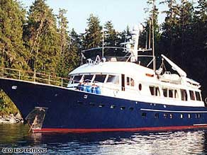 The 100 foot Katania was chartered by Hollywood star Hilary Swank and her husband Chad Lowe.