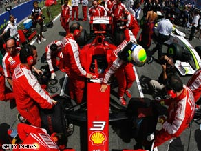 Ferrari's participation in the 2010 Formula One season remains in the balance.