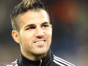 Is Cesc Fabregas paving the way for a move away from London-based club Arsenal?