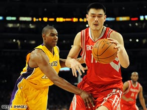 Chinese superstar Yao Ming has been linked with a switch to Cleveland if Huang's deal goes through.
