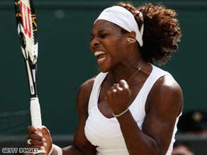 Serena Williams claimed her 11th Grand Slam title with her third victory at Wimbledon.