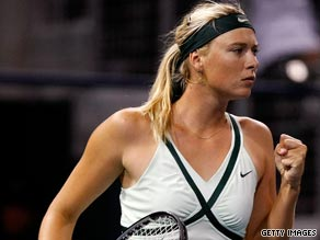 Russia's Maria Sharapova is seeking to return to her best form after an injury-hit past year.