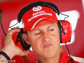 Schumacher is hoping to make his Ferrari return in the European Grand Prix on August 23.