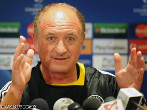 Brazilian Scolari lasted  just seven months at Stamford Bridge.