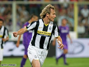 Nedved has spent eight years with Juventus, winning the Serie A title twice with them.