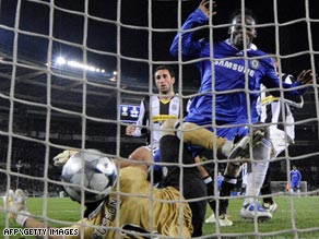 Essien marks his Chelsea return after a six-month injury absence with a crucial away goal in Turin.