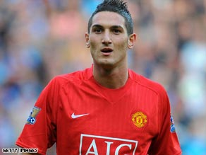 Man of the moment: Seventeen-year-old Federico Macheda is now a legend at Manchester United