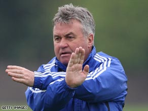 Hiddink has restored Chelsea's fortunes since arriving in London in February.