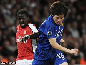 Park's opening goal in the semifinal second leg against Arsenal set the tone for United's return to the final.