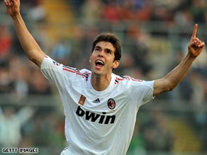 Former World Player of the Year Kaka is a reported target for several clubs.