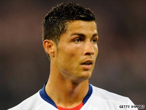 Manchester United's Cristiano Ronaldo is wanted at Real Madrid.