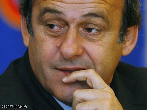 Platini, the boss of European football's governing body, has crticized Ronaldo's proposed transfer