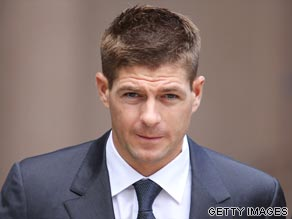 England international Steven Gerrard was cleared by a court in Liverpool of affray.