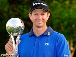 Retief Goosen's fitness regime paid a big dividend with his first U.S. tournament win for four years.