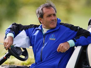 Brave Seve Ballesteros says that battling his brain tumor is like fighting for a sixth career major.