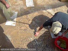 Modern Israeli farmers were first to unearth this temple from the fifth or sixth century.