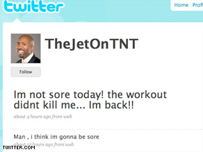 TNT's Kenny Smith tries to connect personally with NBA fans through his Twitter feed.