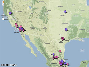 Henry Niman's map has been an online hit, tracking the spread of swine flu.