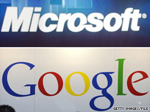 The fight between Microsoft and Google is over who'll be seen as the world's most important tech company.