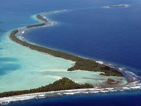 Tuvalu hopes to set an example to bigger nations by relying totally on clean energy by 2020.