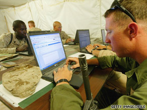The Marine Corps fears that social media sites such as Facebook could pose a security risk.