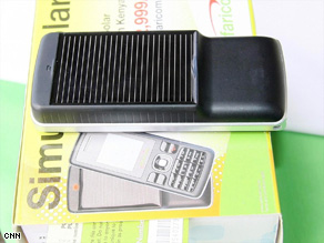The Solar Guru phone is expected to be a great success in Kenya.