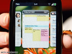 Palm's Pre's applications are lightweight and less-resource intensive than iPhone applications.