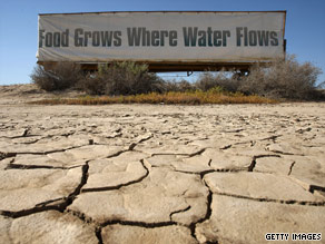 Farmers and workers in central California are suffering through the third year of a worsening drought.