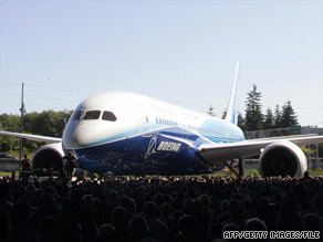 The aircraft manufacturer originally announced it would deliver the Dreamliner in May 2008.