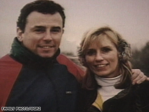 Sean Rooney and wife Beverly Eckert in an undated photograph.