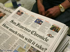 The Chronicle told employees last month that the paper was at risk if it did not stop bleeding millions.