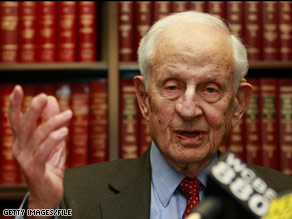 Robert Morgenthau says Iran is working towards developing nuclear weapons.