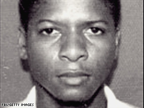 Ahmed Khalfan Ghailani is shown in a photo posted by the FBI in 2004.