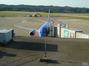 Southwest Flight 2294 made an emergency landing at Yeager Airport in Charleston, West Virginia, on Monday.