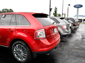 Ford Motor Co. saw an increase in domestic sales this July over last, a company official said.