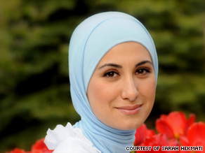 Hekmati says she voluntarily wears the head scarf and it helped liberate her from some teenage angst: Does my hair look good? Am I cute enough? Should I lose weight?