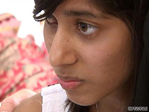 "Rifqa Bary, 17, says a mosque told her family to ""deal with the situation"" of her Christian conversion."