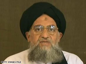Ayman al-Zawahiri, seen here in 2007, said Tuesday the Sudanese president pandered to the West.