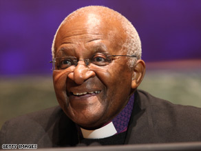 Archbishop Desmond Tutu said Monday he would boycott the conference.